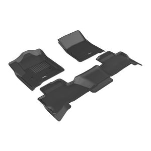 Kagu All Weather Floor Liner - Chevy Tahoe 2015+ - 1st, 2nd & 3rd Row