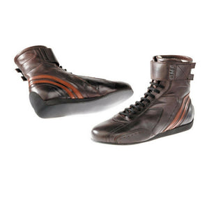 OMP Carrera Leather Race Boots