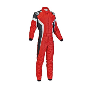 OMP Tecnica Race Suit - Red