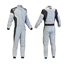OMP Tecnica Race Suit - Grey/White