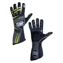OMP Tecnica Evo Gloves - Anthracite/Yellow