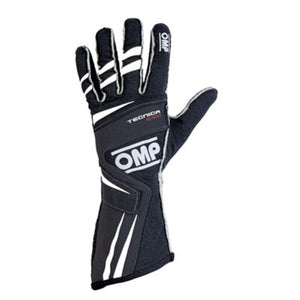 OMP Tecnica Evo Gloves - Black