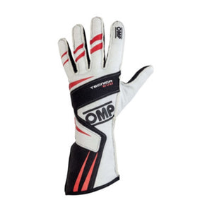 OMP Tecnica Evo Gloves - White