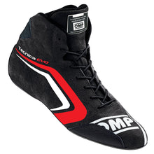 OMP Tecnica Evo Driving Shoes - Black/Red