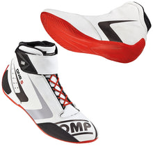 OMP One-S Leather Race Shoes - FIA/SFI