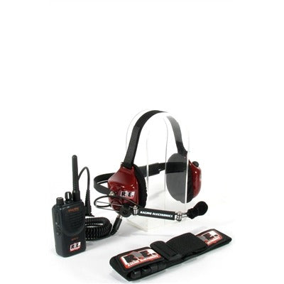 Racing Electronics Stingray Crew Member Kit - Motorola Mag1, BPR40