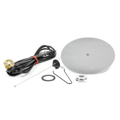 Racing Electronics Antenna Kit - Ultra High Frequency Thick Roof Mount & Cable with K332 Ground Plane