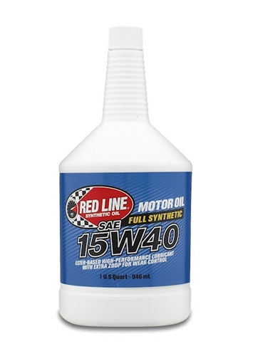 Red Line 15W40 Synthetic Diesel Motor Oil 21404