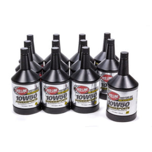 Red Line 10W50 Powersports Oil