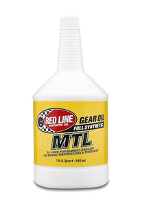 Red Line MTL 75W80 GL-4 Manual Transmission Fluid 50204