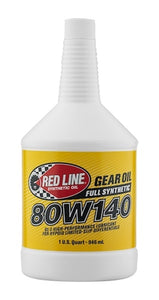 Red Line 80W140 GL-5 Gear Oil 58104