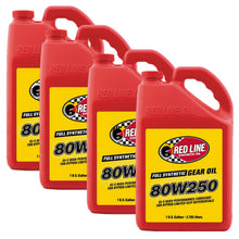 Red Line 80W250 GL-5 Gear Oil - Case of 4 Gallons
