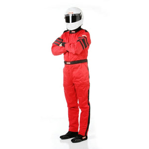 RaceQuip 120 Series Multi-Layer Race Suit - Red
