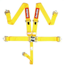 RaceQuip 5-Pt Latch and Link Harness - Yellow