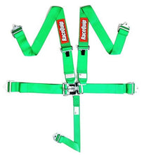 RaceQuip 5-Pt Latch and Link Harness - Green