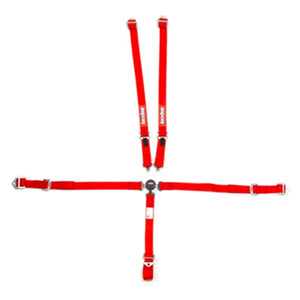 RaceQuip SFI Youth Camlock Harness Set - Red