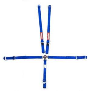 RaceQuip SFI Youth Camlock Harness Set - Blue