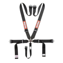 RaceQuip 6-Point-SFI Pull Up Camlock Harness - Black