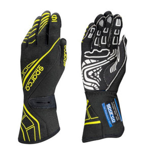 Sparco Lap RG-5 Gloves - Black/Yellow