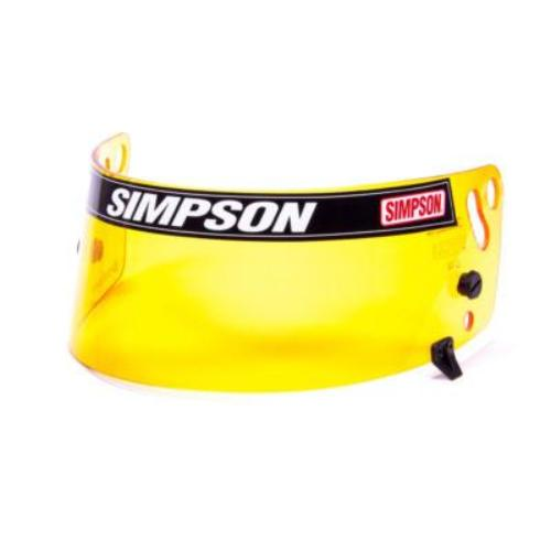Simpson Amber Helmet Shield - Shark, Vudo