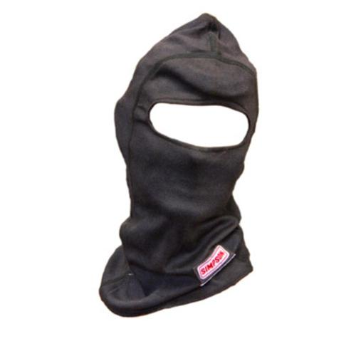 Simpson CarbonX Single Eyeport Head Sock Black