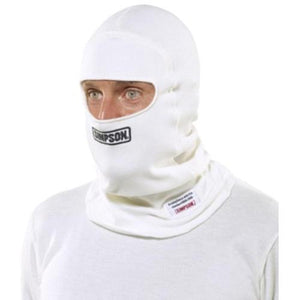 Simpson Carbon X Balaclava - White