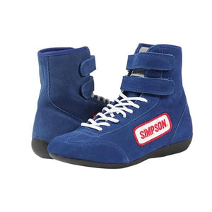 Simpson High Top Driving Shoes - Blue