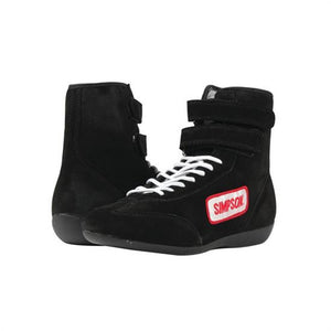 Simpson High Top Driving Shoes - Black