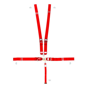 Simpson Sport 5-Point Harness System 29043 - Red