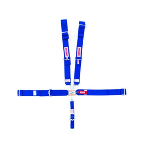 Simpson 5-Point Sprint Car Harness - Blue