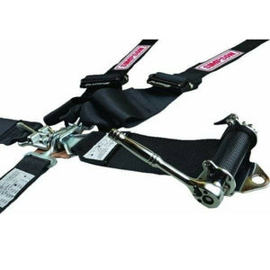 Simpson 5-Point Platinum Plus Harness with Steel Ratchet Adjuster SB.51203