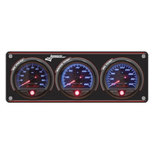Longacre 3-Gauge Aluminum Panel with AccuTech™ SMi™ Gauges - OP,WT,FP-15 PSI 44463