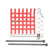 "Schroth Window Net Kit with Hardware - Square 16"" x 16"" Red SR 09043-2"