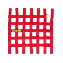"Schroth Window Net - Square 16"" x 16"" Red SR 09053-2"