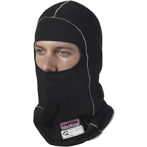 Simpson Single Eyeport Memory Fit Head Sock Black