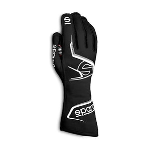 Sparco Arrow Race Gloves (2020) - Black/White