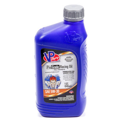 VP Racing Fuels 5W30 Pro Grade Synthetic Racing Oil