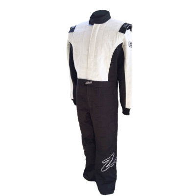Zamp ZR-30 Multi-Layer Race Suit Black/White