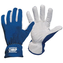 OMP Rally Gloves - Blue