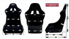 Pyrotect Sport Race Seat Dimensions SEA-1000-B