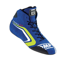 OMP Tecnica Evo Driving Shoes - Blue/Yellow