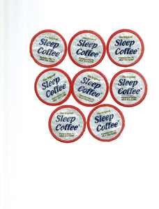 The Original SLEEP  COFFEE-   8 K Cup pack of herbal flavor