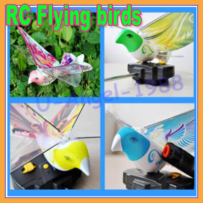 New gift Idea RC Flying birds toy bionic remote birds toy novelty toy RC airplane+free shipping