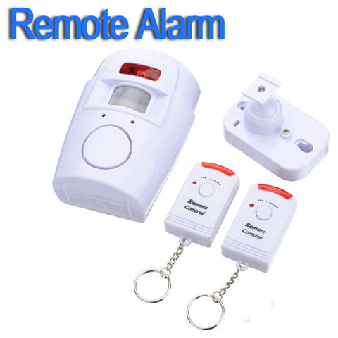 New Wireless House Safety System Security IR Infrared Motion Sensor Alarm Detector + 2 Remote Control + Retail Package Hot Sale