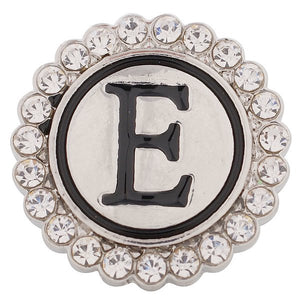 Crystal Circle Letter E  Snap