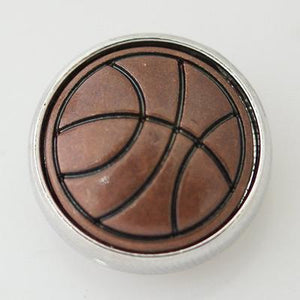 Copper Basketball Snap