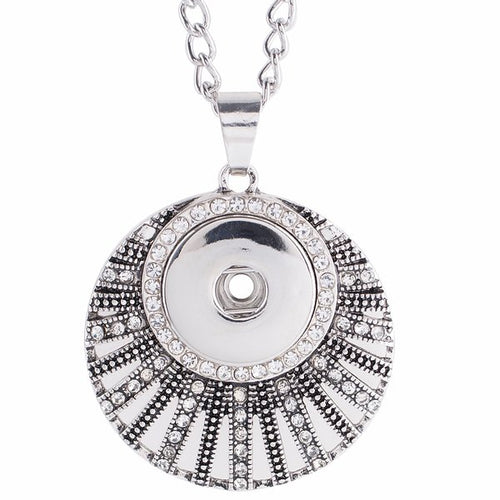 Round Art Deco Necklace