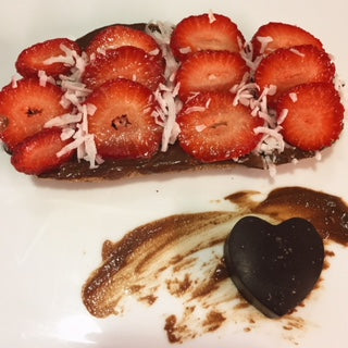 Mexican Chocolate Cashew Cream Toast