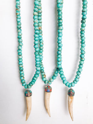 delhi beaded necklace