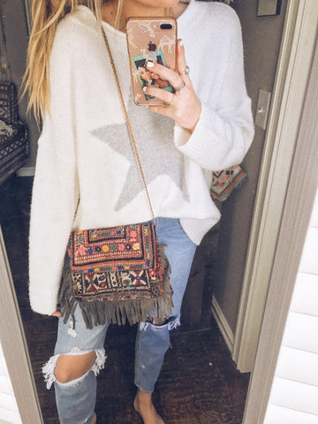 sophie embroidered crossbody